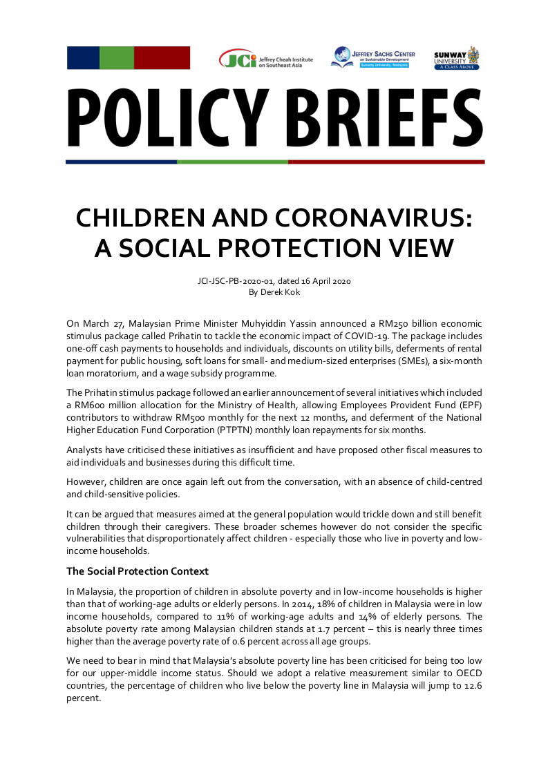 Cover for Policy Briefs