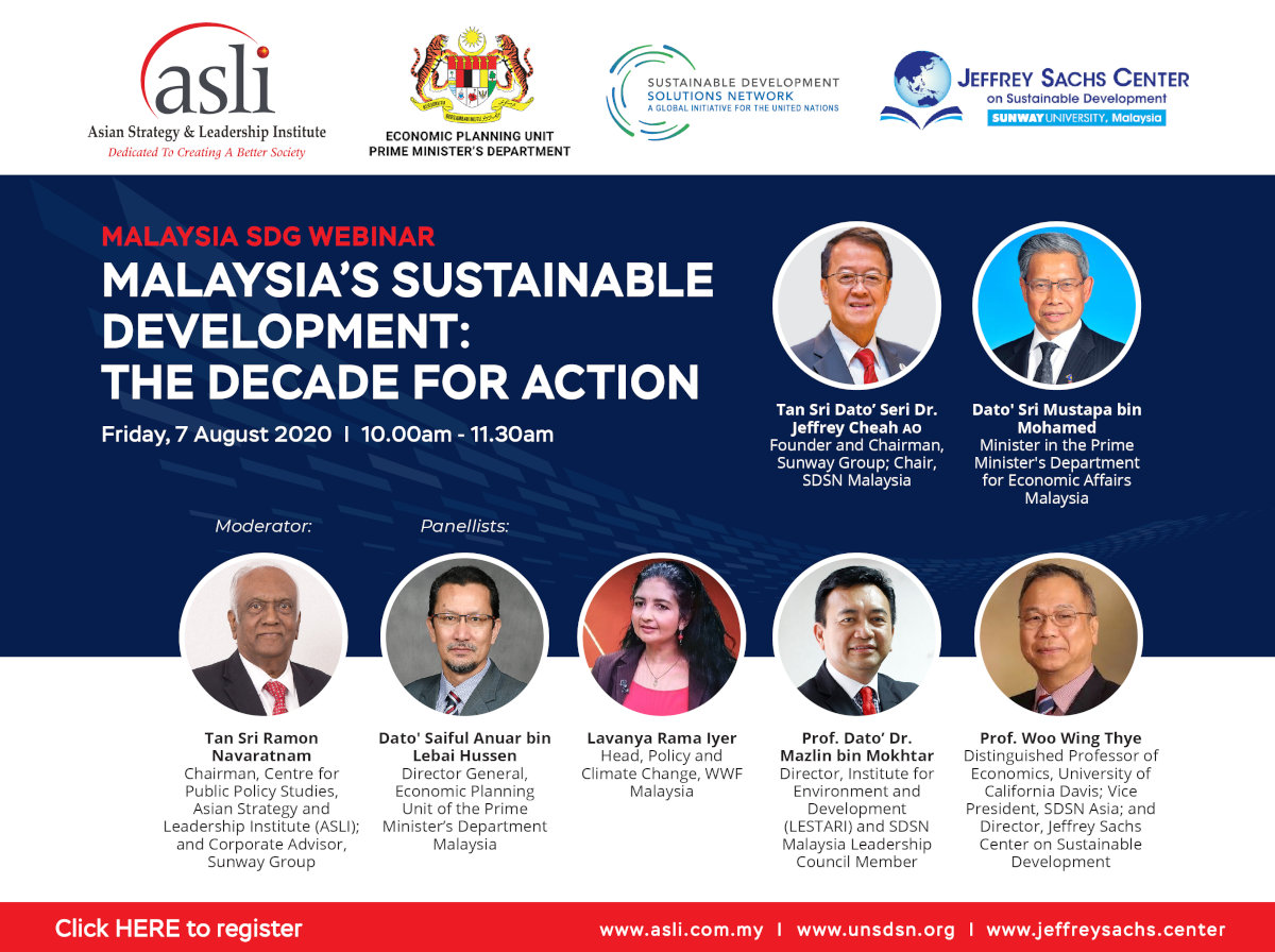 Banner image for Malaysia's Sustainable Development: The Decade for Action